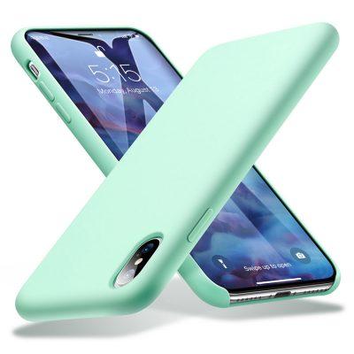 ốp iphone xr, xs, xs max esr màu xanh min