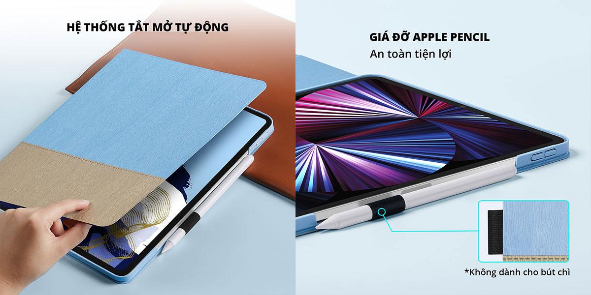 Bao da  ốp ESR Simplicity iPad Pro M1 2021